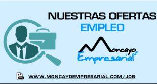 Ofertas de empleo en Moncayo Empresarial