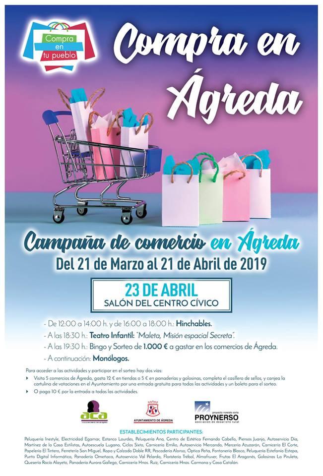 Apoyo comercio local de Ágreda 2019