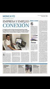 Entrevista de Moncayo Empresarial en Eldiasoria.es